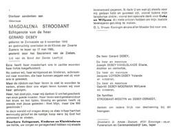 Magdalena Stroobant (1910-1986) - Devotion Images