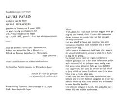 Louise Parein (1900-1992) - Devotion Images