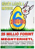 Szerencsejáték Rt. Plakát, 42×29 Cm - Unclassified