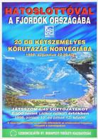 1998 Hatoslottóval A Fjordok Országába Plakát, 42×29 Cm - Unclassified