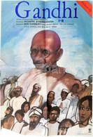 Gandhi Film Plakátja, Hajtott, Szakadással, 156×40 Cm - Unclassified