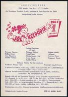 """1964 """"Jól Kezdődik"""" Műsoros Lottósorsolás Az Erkel Színházban, 21×14,5 Cm - Unclassified"""