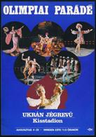 1979 Olimpiai Parádé - Ukrán Jégrevü, Kisstadion, Villamosplakát, 24,5×17 Cm - Unclassified
