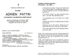 Adriën Pattin (1921-1989) - Devotion Images