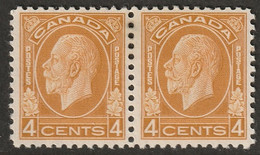 Canada 1932 Sc 198 Mi 165 Yt 164 Pair MH* - Unused Stamps