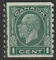 Canada 1933 Sc 205 Mi 162D Yt 161a Coil Line Single MLH* - Unused Stamps