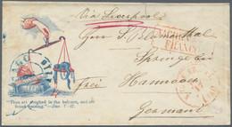 Hannover - Besonderheiten: 1861, Bezahlter Brief Per Prussian Closed Mail (Convention Effktiv 16.10. - Hanovre
