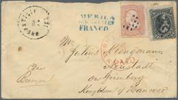 Hannover - Besonderheiten: 1865, Bezahlter Brief Per Bremen Convention Mail, (II. Convention Effekti - Hanovre