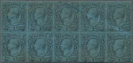 Sachsen - Marken Und Briefe: 1855, König Johann I. 2 Ngr. Auf Mittelblau, Ungebraucht Mit Originalgu - Sachsen