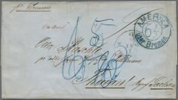 Sachsen - Besonderheiten: 1861, Unbezahlter Brief Per Bremen Convention Mail (II. Convention Effekti - Sachsen
