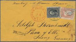 Sachsen - Besonderheiten: 1865, Bezahlter Brief Per Hamburg Convention Mail (effektiv 1.7.57) Nach D - Sachsen