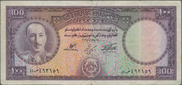 """Afghanistan: Set With 11 Banknotes Of The SH 1327-1336 (1948-1957) """"King Muhammad Zahir"""" Issue, Comp - Afghanistan"""