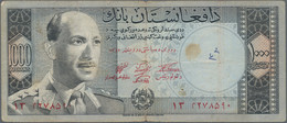 """Afghanistan: Nice Lot With 18 Banknotes Of The SH 1340-1342 (1961-1963) """"King Muhammad Zahir"""" Issue, - Afghanistan"""
