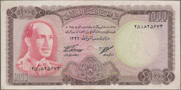 """Afghanistan: Huge Lot With 33 Banknotes Of The SH 1346 (1967) """"King Muhammad Zahir"""" Issue, Comprisin - Afghanistan"""