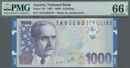 Austria / Österreich: Austria National Bank 1000 Schilling 1997 With Portrait Of Karl Landsteiner, P - Austria