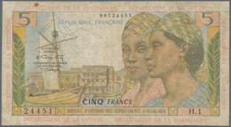 French Antilles / Französische Antillen: Institut D'Émission Des Départements D'Outre-Mer, Series ND - Sonstige – Amerika
