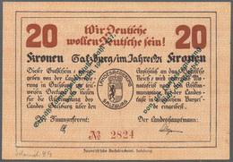 Austria / Österreich: Austria, Notgeldscheine Mit Deutschnationalem Oder Antisemitischem Bezug, Dabe - Austria