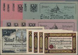 Deutschland - Notgeld - Württemberg: Rottweil, Amtskörperschaft, 5 Mark, 25,10,1918, Erh. III; Stadt - [11] Emisiones Locales
