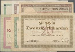 Deutschland - Notgeld - Württemberg: Stuttgart, Schwäb. Hüttenwerke G.m.b.H., 1000 Mark, 15.10.1922, - [11] Emisiones Locales