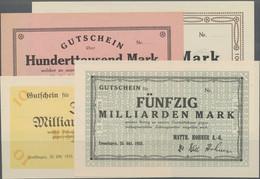 Deutschland - Notgeld - Württemberg: Trossingen, Matth. Hohner A.-G. Harmonikafabriken, 100 Tsd., 1 - [11] Emisiones Locales