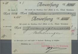 Deutschland - Notgeld - Württemberg: Welzheim, Carl Hahn & Co., Fil. Welzheim, 10 Tsd. Mark, 2.3.192 - [11] Emisiones Locales