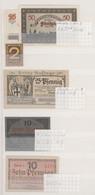 Deutschland - Notgeld: Sammlung Von über 850 Notgeldscheinen In Vier Einsteckbüchern, Darunter Auch - Non Classificati