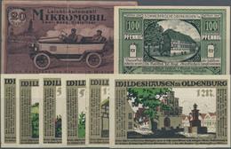 Deutschland - Notgeld: Serien- Und Kleingeldscheine, Umfangreicher Blitzsauberer Bestand Von N. A. D - Non Classificati