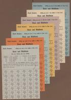Deutschland - Notgeld - Bayern: Original Sammelalbum Mit 1245 Lebensmittelkarten, Verschiedenen Bele - [11] Emisiones Locales