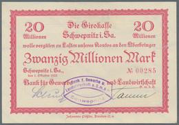 Deutschland - Notgeld - Sachsen: Album Mit 66 Scheinen Aus 1922 Und Hochinflation 1923 Ohne Massenwa - [11] Emisiones Locales