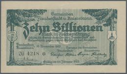 Deutschland - Notgeld - Württemberg: Freudenstadt Und Baiersbronn, Stadtgemeinde Und Gemeinde, 500 M - [11] Emisiones Locales