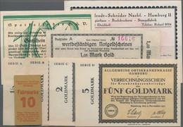 Deutschland - Notgeld - Württemberg: Saulgau, Album Mit 105 Notgeldscheinen Verschiedener Ausgabeste - [11] Emisiones Locales