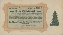 Deutschland - Notgeld - Württemberg: Stuttgart, Album Mit 91 Notgeldscheinen, Dabei Stadt Mit 26 X K - [11] Emisiones Locales