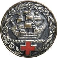 Orden & Ehrenzeichen: Rotes Kreuz, Mitglied Abzeichen Frauen- Verein Vom Roten Kreuz Für Deutsche üb - Non Classés