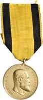 Orden & Ehrenzeichen: Württemberg, Goldene Militärverdienstmedaille, Für Tapferkeit Und Treue, OEK 3 - Non Classés