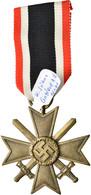 Orden & Ehrenzeichen: Drittes Reich, Kriegsverdienstkreuz (KVK) 1939 II. Klasse Mit Schwertern, Hers - Non Classés