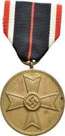 Orden & Ehrenzeichen: Drittes Reich: Kriegsverdienstmedaille (KVM) Mit Verleihungsurkunde Vom 01. Se - Non Classés