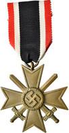 Orden & Ehrenzeichen: Drittes Reich, Kriegsverdienstkreuz (KVK) 1939 II. Klasse Mit Schwertern Und V - Non Classés