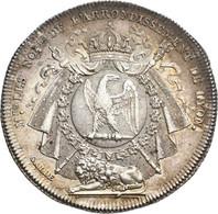 Medaillen Alle Welt: Frankreich, Lot 5 Medaillen / Silberjetons Diverse Motive, Teils Notaren, Dabei - Unclassified
