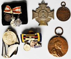 Orden & Ehrenzeichen: Kleines Lot Orden Und Medaillen: Kriegsdenkmünze 1870/1871 Für Kämpfer (OEK 19 - Non Classés