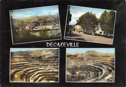 AVEYRON  12  DECAZEVILLE  QUATRE VUES - INDUSTRIE - MINES - Decazeville