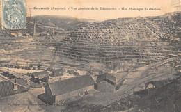 AVEYRON  12   DECAZEVILLE  VUE GENERALE DE LA DECOUVERTE  UNE MONTAGNE DE CHARBON - INDUSTRIE - MINE - Decazeville