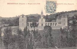 AVEYRON  12  DECAZEVILLE  HOSPICE DE LA VILLE - Decazeville