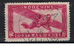INDOCHINE           N°  YVERT  PA 8 ( 2 ) OBLITERE       ( Ob   3 / 42 ) - Aéreo