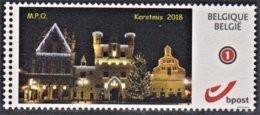 """MyStamp Zelfklevend Mechelen """"Kerstmis 2018"""" - Personalisierte Briefmarken"""