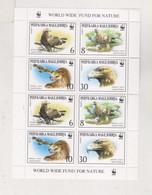 MACEDONIA 2001 Fauna WWF  Sheet MNH - Mazedonien