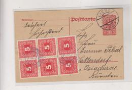 AUSTRIA  1920 LIENZ  Postal Stationery Postage Due - Brieven En Documenten