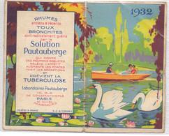 Kalender Calendrier 1932 - Médication Pautauberge - Small : 1921-40
