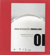 CARTE'COM---MONTPELLIER--2001--Montpellier Danse---voir 2 Scans - Baile