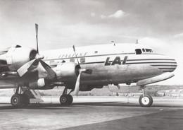 CPA - Douglas DC 6 B - Compagnie L.A.I ( Linee Aeree Italiane ) - 1946-....: Modern Era