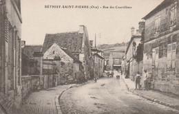 Cpa Béthisy Saint-Pierre Rue Des Courtilliers - Other Municipalities